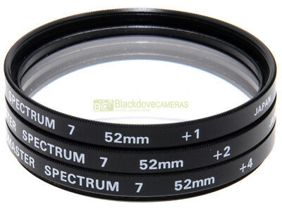 52mm. aggiuntivi macro +1 +2 +4 diottrie Promaster Spectrum 7. Close-up adopters