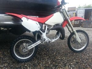 2001 Honda CR 80 without engine