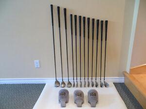 un ensemble Yonex Super A.D.X  200 (bois et fers) gaucher