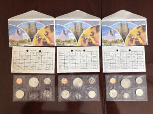 1984 Royal Canadian Mint Coins (uncirculated)