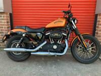 HARLEY DAVIDSON IRON XL 883, ONE OWNER, 1,800 MILES, ABSOLUTELY STUNNING