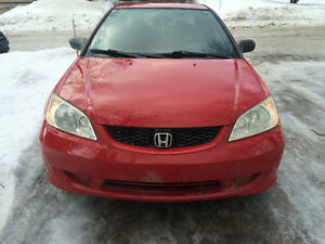 2004 Honda Civic DX-G Coupe (2 door) **REDUCED**