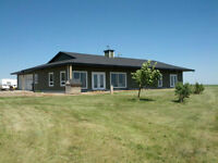 Farm for sale north of Picture Butte, new house, irrigated land