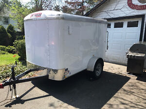 2017 TNT TOTE Enclosed Cargo Utility Trailer 5x8 Round Top