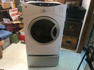 GE DRYER AND STAND