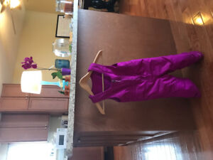 Girls, 4T Columbia snowpants, excellent condition