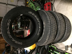 goodyear wranglers sr/a mud and snow 265 65 18