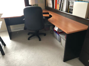 Large corner desk for sale