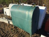 Water tank 250 gallon
