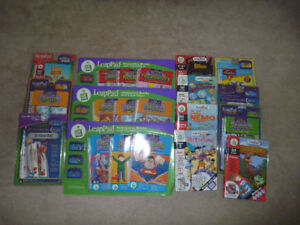 20 Leap Pad Books and Cartridges