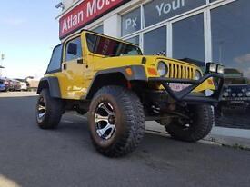 2000 Jeep Wrangler 4.0 Sport Soft top 4x4 3dr