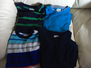 Boy's Size 10/12 Sweaters With Long Sleeves .... $30 for 7