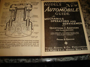VINTAGE audels new automobile guide 1954