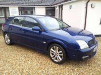 Vauxhall Signum 2.2i 5dr Man Gbox. Long MOT. Lots of cheap cars for sale