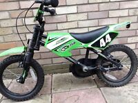 "Children's moto bike for sale 12"" wheel £20"