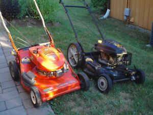 Two Self-Propelled Lawnmowers (non-working)