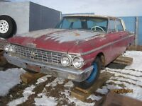 parting out 62 Ford Galaxie