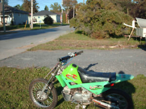Baha 90cc off road dirt bike