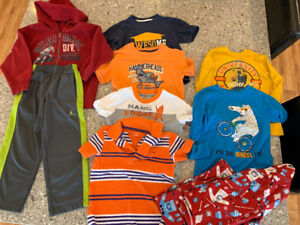 Boys size 4 clothing lot