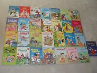 29 livres vintage de la collection Walt Disney
