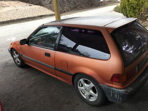 1989 Honda Civic Hatchback
