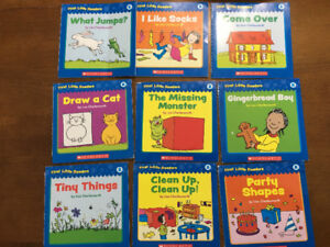 Scholastic My little Reader and Phonics early readers books