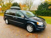 CHRYSLER GRAND VOYAGER 2.8 CRD LIMITED 2008 08, SAT NAV, DVD, X3 ELECTRIC DOORS