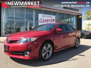 2014 Toyota Camry SE  - one owner - local - trade-in - Certified