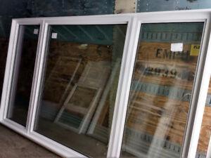 **CLEARANCE**  LARGE NEW PVC WINDOW - LIFETIME WARRANTY