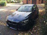 BMW 1 series new shape