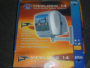 """Viewlogic 14"""" Television Wall Mount Bracket West Island Greater Montréal image 2"""