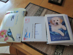 Assortment of greeting cards