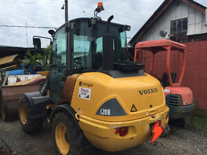 2009 volvo l20 b mini loader