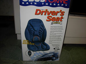 NEW IN BOX OBUS FORM DRIVER SEAT MASSAGE AND HEAT