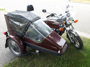 1979 Honda Goldwing with side car