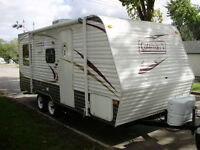 Camper and Tent trailers for rent. Camping season is coming soon