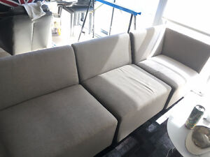 DivanoLounge 4 Piece Modular Patio Sofa