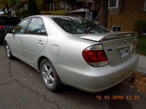 CAMRY TOYOTA MANUELLE 2005