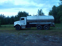 Kenworth Water Truck