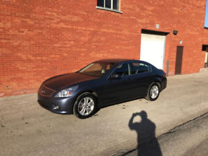 2011 Infiniti G25x Luxury Sedan Certified