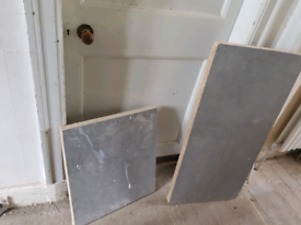 Sink and hob worktop cut out free