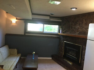 One bedroom basement suite for rent from February