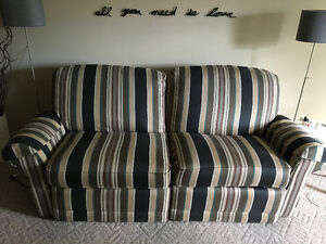 La-Z-boy reclining couch and loveseat