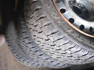 205 65 R 15 WINTER TX ARCTIC CLAW TIRES (3 for $50.00)...on rims