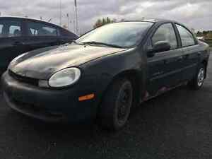 ATTENTION !!!!! POUR VENTE RAPIDE !!! Chrysler Neon 2000 Berline