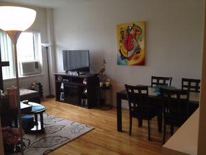 3 1/2 available for sublet as of March 1st