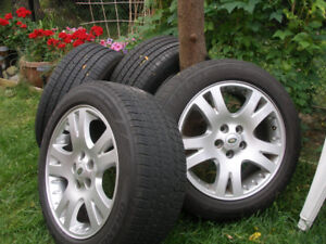 "4 X Land Rover Range Rover 19"" Wheels &Tires excellent condition"