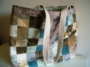 Custom crafted and designed quilted purses and handbags
