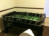 Piano black football table