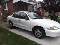 2001 Cavalier - With Snow Tires!!!